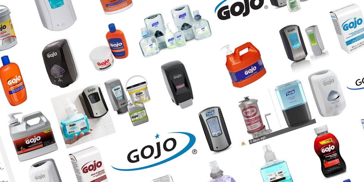 Gojo πλυσιμο χεριων - δωρεάν συσκευές dispensers