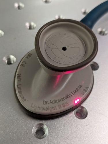 Χάραξη στηθοσκοπίου Lightweight της Littmann