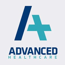 advanced healthcare logo