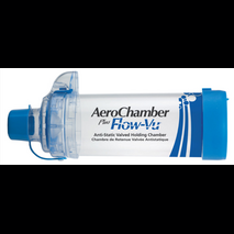 Aerochamber Plus Flow - Vu Anti - Static ενηλίκων με επιστόμιο