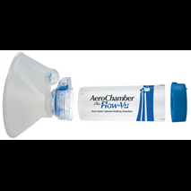 Aerochamber Plus Flow - Vu Anti - Static ενηλίκων με μάσκα