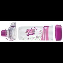 Aerochamber Plus Flow - Vu Anti - Static με επιστόμιο Girlz