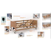 ARMINIA III  Νοσοκομειακό κρεβάτι ξύλινο ηλεκτροκίνητο πολύσπαστο