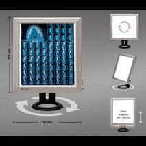 Διαφανοσκόπιο επιτραπέζιο μονό WEIKO SLIM LED - BF LED 50.1 FT1