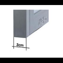 Διαφανοσκόπιο Επιτοίχιο Μονό WEIKO SLIM LED - BF LED 50.1 F