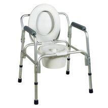 Κάθισμα τουαλέτας αλουμινίου ενισχυμενο ως 135 κιλά