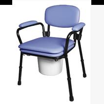 Κάθισμα τουλέτας ανυψωτικό με επένδυση αφρολέξ