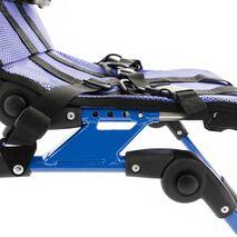 Ρυθμιζόμενο βάθος καθίσματος που βοηθά στην πλήρη προσαρμογή στο ύψος του χρήστη και παρέχει μια άνετη και σταθερή θέση καθίσματος