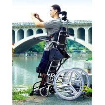 Χειροκίνητο αμαξίδιο με ηλεκτρική ορθοστάτηση Hero 4