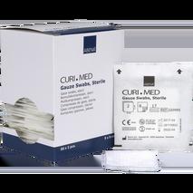 Αποστειρωμένες γάζες 17 κλωστών 8ply 50 x 2 τεμάχια - Curi Med