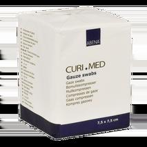 Γάζες, μη αποστειρωμένες 17 κλωστών 8ply 100 τεμάχια - Curi Med