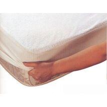 Επίστρωμα βαμβακερό αδιάβροχο με περιμετρικό λάστιχο