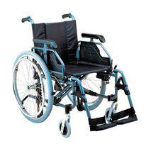 Αναπηρικό αμαξίδιο αλουμινίου με φρένα deluxe AC-53