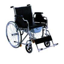Αναπηρικό αμαξίδιο πτυσσόμενο με δοχείο WC AC-43
