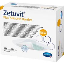 Zetuvit® Plus Silicone Border Επιθέματα κατακλίσεων - 17.5cmx17.5cm Hartmann