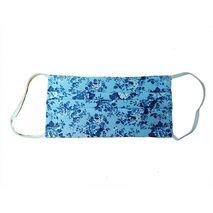 Υφασμάτινη Μάσκα  Πολλαπλών Χρήσεων Παιδική έως 8 χρονών - Γαλάζια Λουλούδια