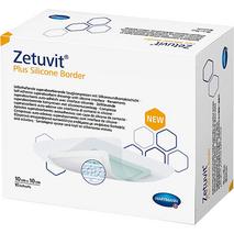 Zetuvit® Plus Silicone Border Επιθέματα κατακλίσεων - 10x10cm Hartmann