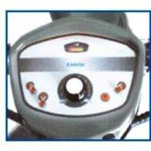 Ταμπλό ελέγχου με ενδείξεις φωτός, φλας, αλάρμ, κόρνας, μπαταρίας