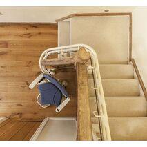Αναβατόριο με Στροφές Platinum Stairlift