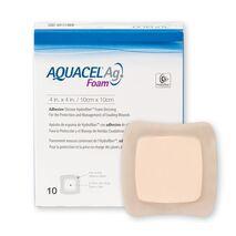 Επίθεμα αφρώδες aquacel foam Ag αργύρου αυτοκόλλητο 20 x 17