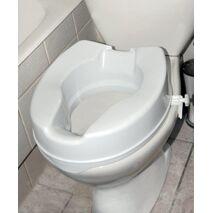 Ανυψωτικό τουαλέτας με πλαϊνούς σφιγκτήρες 15 εκ - AC-532Β
