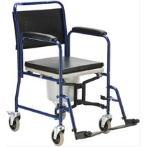 Αναπηρικό αμαξίδιο τουαλέτας – μπάνιου πτυσσόμενο AC-32F