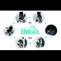 Αμαξίδιο ηλεκτροκίνητο πτυσσόμενο Ideal Tiny