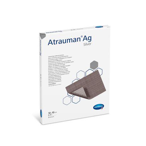Atrauman Ag Hartmann Επιθέματα Αργύρου 10x10cm 10τεμ/κουτί