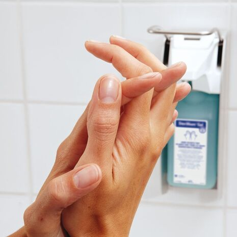 Manusept Gel αντισηπτικό χεριών με αντλία 475 ml