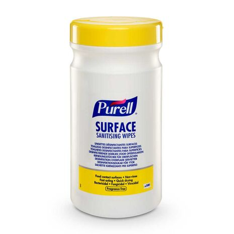 Purell Surface Sanitising - Αντισηπτικά μαντηλάκια 200 τεμάχια