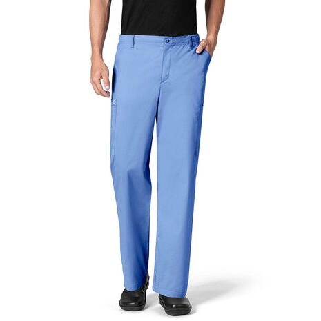 Ιατρικό Παντελόνι Ανδρικό  Wonderwork Ceil Blue
